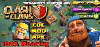 mod apk free clash of clans mod apk hack 2018