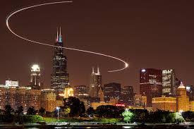 light trail chicago illinois ken koskela photography llc