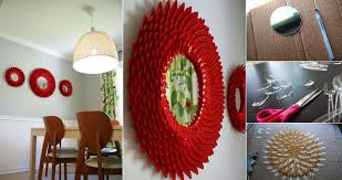 beautiful diy mirror frame ideas tags diy bathroom mirror frame