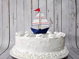 boat cake topper mini paper sailboat cake topper sailboat cake cake and birthdays