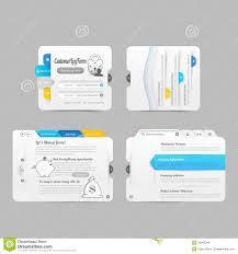 website menu design business website template design menu navigation elements with