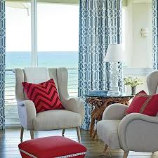 coastal colors red white u0026 blue coastal living