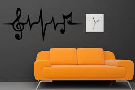 Musical Note Decorations Mural Superb Music Wall Decor Metal M Free Shipping Diy Music