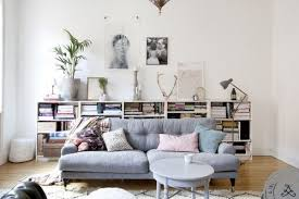 console table behind sofa against wall 20 great ways to make use of the space behind couch for extra