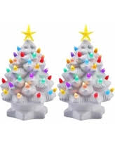 porcelain christmas tree with lights deal alert color changing lighted tree elegant tabletop christmas