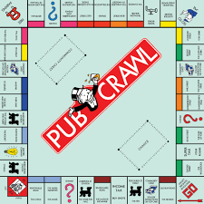 monopoly map thirsty thursdays the monopoly pub crawl 2015 in