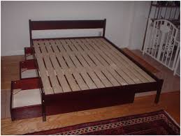 Queen Platform Bed With Storage And Headboard Bedroom Golden Handles King Platform Beds With Storage Platform