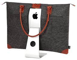 lavolta carrying case tote bag for apple imac 27 inch retina 5k