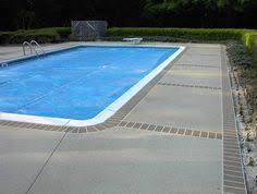 concrete overlay pool yard pinterest pool decks decks and