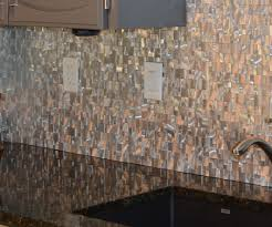 home improvement how to install metal mosaic wall tiles