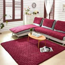 Eco Friendly Sectional Sofa Aliexpress Com Buy Flannel 4colors Sofa Covers Fleeced Fabric