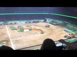 monster truck jam houston 2015 monster jam afthershock freestyle houston nrg 2015 youtube