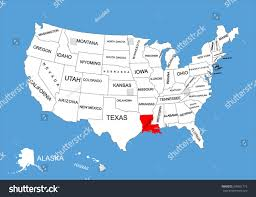 South Louisiana Map by Maps Of Usa All Free Usa Maps