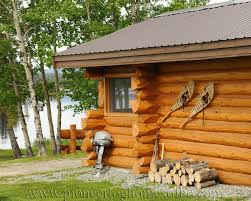 handcrafted log cabin resort for sale in british columbia