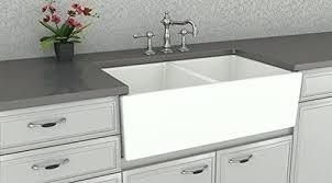 double basin apron front sink white double bowl farmhouse sink goodna info