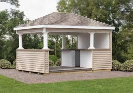 backyard cabana ideas cabanas u0026 outdoor bars cedar craft storage solutions