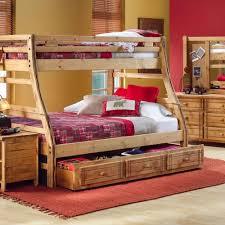 rustic bunk beds style modern bunk beds design