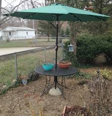 Umbrella Stand Patio Patio Umbrella Stand The Use What You Method 5 Steps