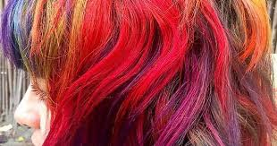 rainbow hair by rebeccafayehb for halehtv rainbowhair