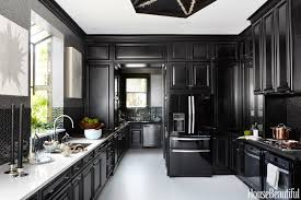 House Design Kitchen Pictures Of Kitchens With White Cabinets And Black Countertops