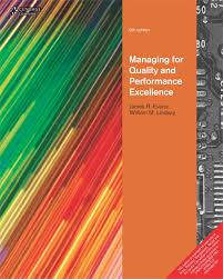 managing for quality and performance excellence 9th edition evans