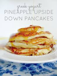 greek yogurt pineapple upside down pancakes club narwhal