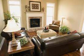 Living Room With Brown Leather Sofa Can I Decorate With Leather Furniture And Fabric Furniture In One