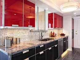 Best 20 Red Kitchen Cabinets Best 20 Red Kitchen Walls Ideas On Pinterest Cheap Lovely Kitchens