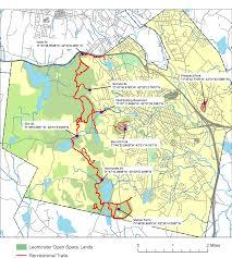Prospect Park Map Leominster Conservation Area Maps