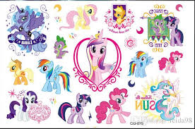 2015 my little pony tattoo temporary tattoo waterproof temporary