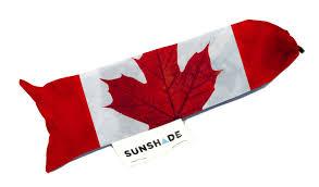canadian maple leaf flag uv sun shade