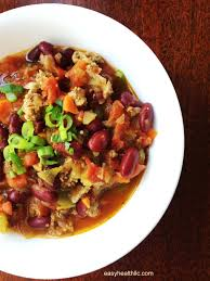 chili cuisine beef and veggie chili made diabetes easyhealth living