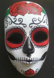 day of the dead masks painted day of the dead mask 30 00 via etsy this is