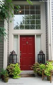 how to paint a front door modern masters cafe blog