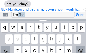 Autocorrect Meme - are you ok autocorrect i m rick harrison and this is my pawn shop