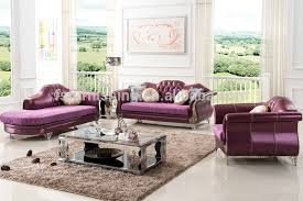 leather and velvet sofa hereo sofa Steel Living Room Furniture