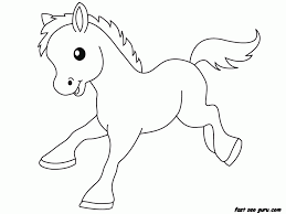 baby animals coloring page coloring home
