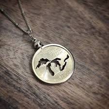 great necklace great lakes coin necklace my secret stash