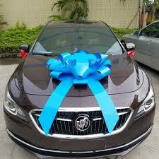 car bow ribbon new energy vehicle s large pp ribbon car bow buy gift bow car