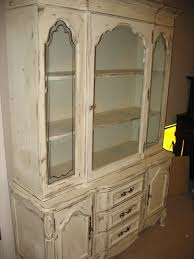 Distressed White Kitchen Hutch Rustic Canyon Distressed White China Cabinet Vit 10 White Care