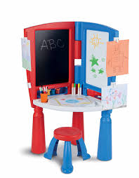 Kids Art Desk And Chair by Amazon Com Little Tikes 2 In 1 Art Desk U0026 Easel Toys U0026 Games