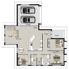 sle house floor plans denah rumah 3 kamar tidur dengan garasi dan ruang keluarga lebar