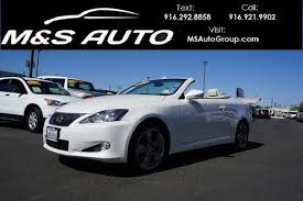 convertible lexus for sale used 2010 lexus is 350 c convertible pricing for sale edmunds