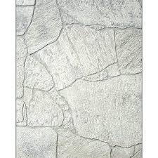 shop fashionwall 1 4 in x 4 ft x 8 ft white stone hardboard