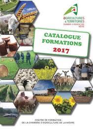 chambre d agriculture de la nievre calaméo catalogue formation 2017