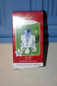 hallmark keepsake ornament r2 d2 wars collector s series