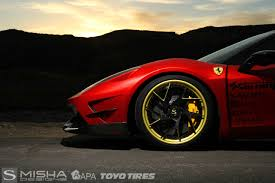 gold and black ferrari savini wheels savini forged sv67 l matte black with matte gold