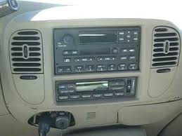 ford expedition remove radio u0026 poor reception repair youtube