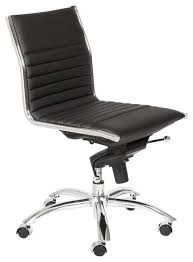 desk chair without arms office chairs no arms eurostyle eurostyle dirk low back swivel