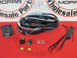 jeep grand cherokee 7 pin trailer wiring harness mopar oem new ebay
